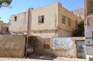 La maison du dernier maire ('umda) de Kharga, Nagâtî Hasan Hanâdî, mort en 1960