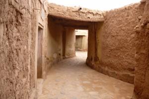 Une ruelle du ksar Boussemghoun © BENKOULA H.
