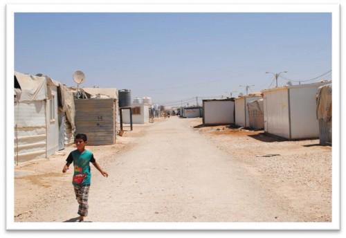 Al-Za'tari Camp, 08/ 2014