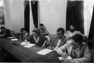 Colloque sur Malek Bennabi, Alger, 1986 (Fonds Fanny Colonna, Médiathèque de la MMSH)