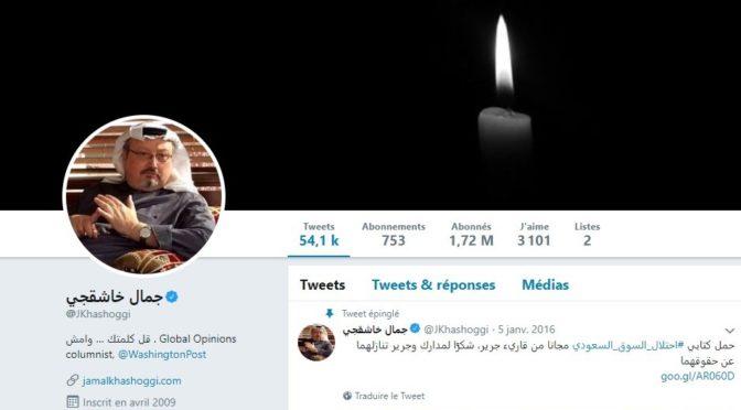 Cerner l'affaire Jamal Khashoggi